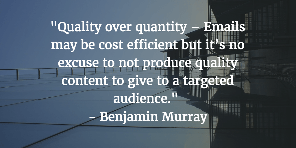Quality Not Quantity Quote: 44 Best Email Marketing Quotes: From Inspirational To